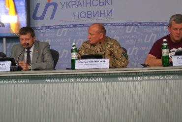 Прес-конференція щодо нападу на добровольця ОУН у Києві