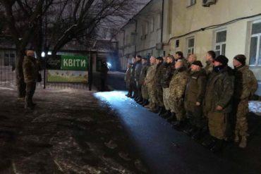 Батальйон ОУН знову вирушив на фронт!