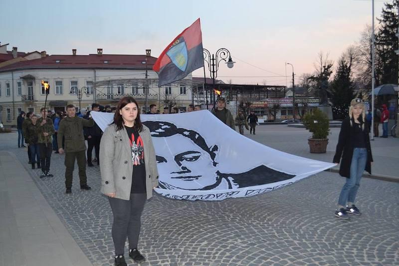 Вшанування пам'яті Миколи Лемика у Золочеві