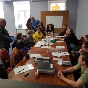 Засідання у Мінкульті щодо Поштової площі та суд над Андрієм Доманським