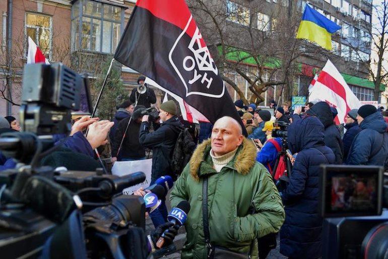 ДР ОУН підтримав акцію на захист незалежності Білорусі