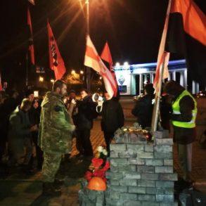 ДР ОУН долучився до пам'ятної ходи до Дня народження Жизневського