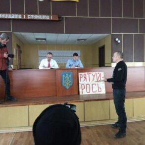 ДР ОУН провів ряд заходів на захист річки Рось