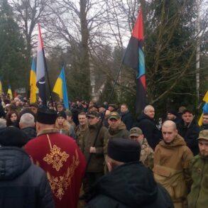 Вшанування пам'яті Романа Шухевича у Білогорщі на Львівщині