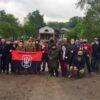 ОУНівці вийшли на захист рекреаційної зони біля Йорданського озера у Києві.