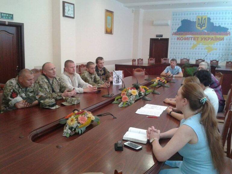 активісти Добровольчого Руху ОУН зустрілися з керівництвом Антимонопольного комітету
